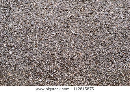 Damp Surface Of Asphalt