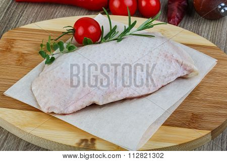 Raw Duck Breast