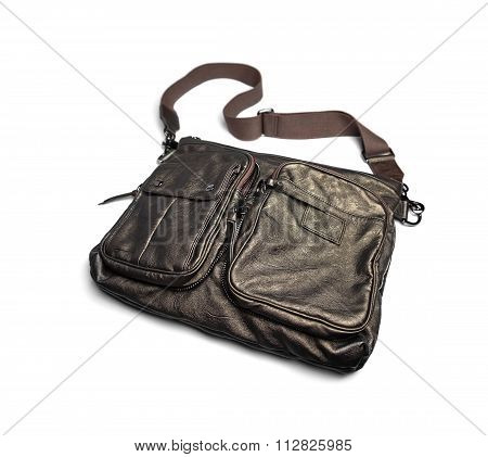 Gray Male Bag