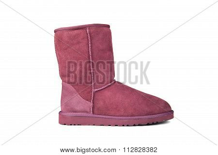 Purple Ugg Boot