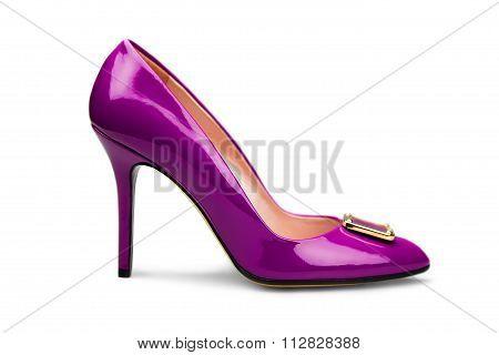 Purple Female Shoe