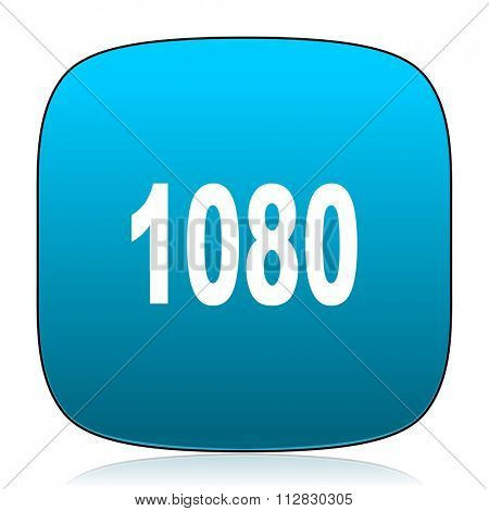 1080 blue icon
