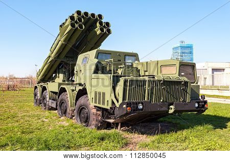 Smerch 300Mm Multiple Launch Rocket System (mlrs)
