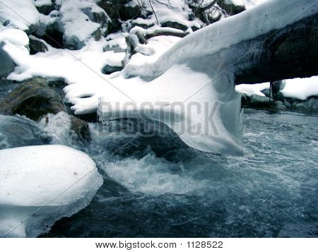 Snow Above The River
