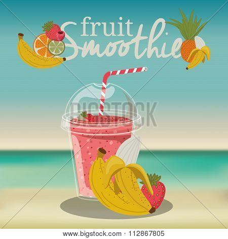fruit smoothie design