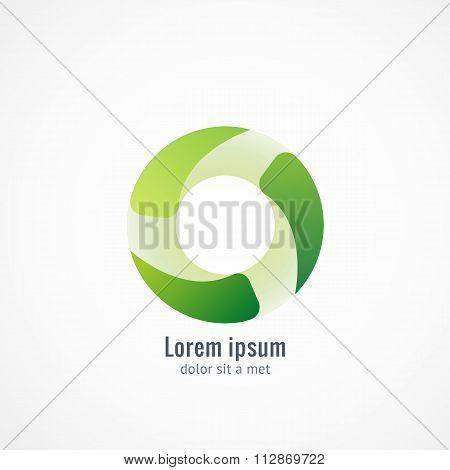 Green Eco logo icon design