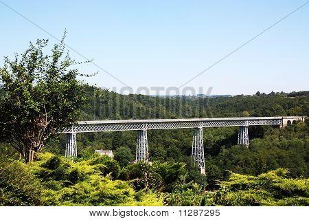 Busseau Viaduct Limousin France