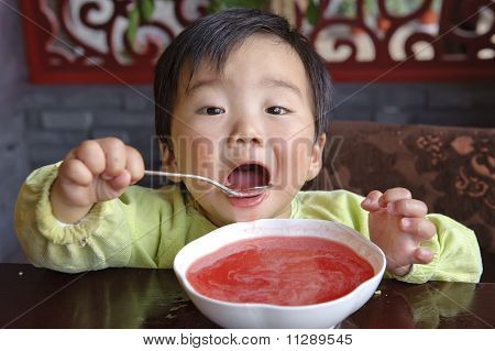 Eating Baby To Grab
