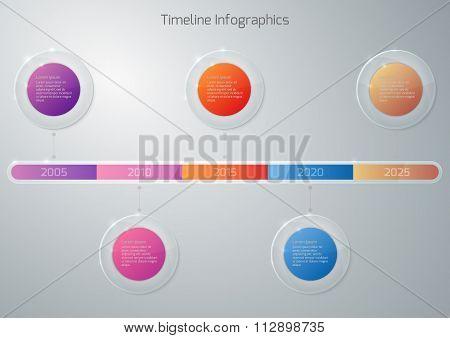 Vector illustration gift voucher template