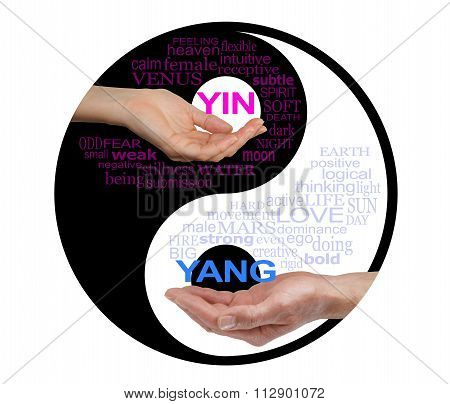 Yin and Yang Together We are Stronger