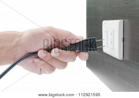Hand Unplug Or Plugged