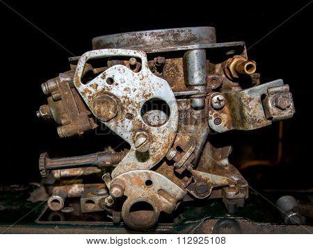 Old car carburetor