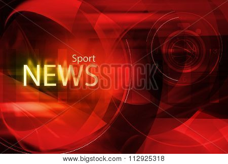 Graphical Sport News Background I