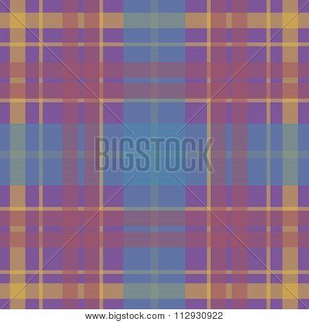 Vector seamless scottish tartan pattern in beige blue pink pale taupe. British or irish celtic desig