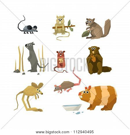 Rodents Vector Collection