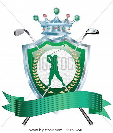 Golf Award Silver