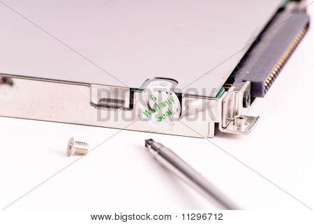 Computer Component Warranty Seal