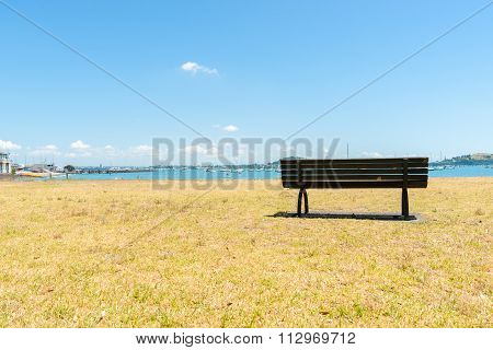 Bench Seat In The Bay.