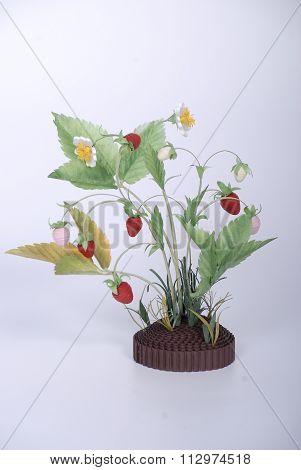 Branch strawberry