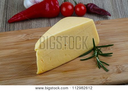 Yellow Cheese Triangle
