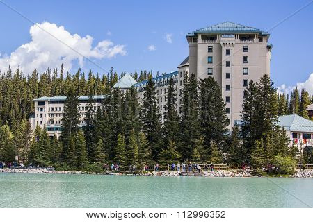 Lake Louise Fairmont Chateau
