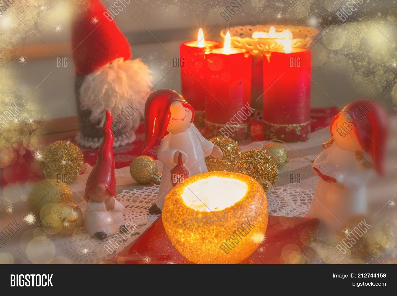 Christmas Gnome Decor.Christmas Gnome Decor Image Photo Free Trial Bigstock