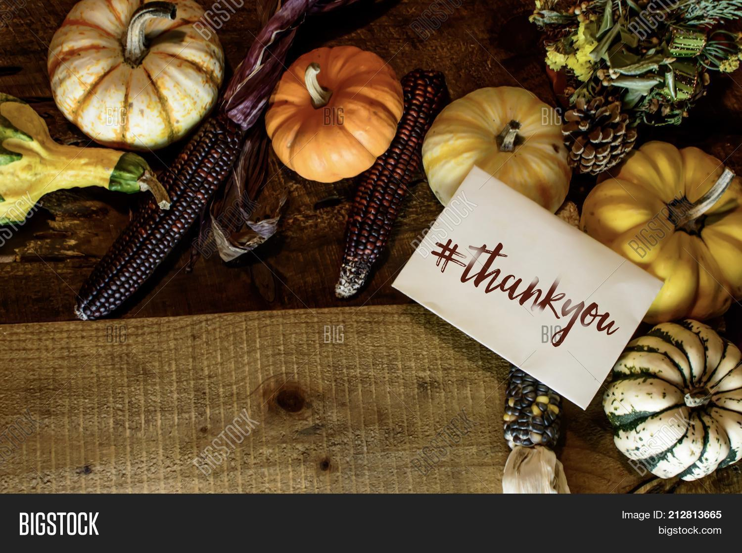 Happy Thanksgiving Day Card Writing With Hashtag Thankyou Thank You As Thanks For Clients