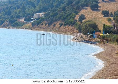 Summer Sea Coast(halkidiki, Greece).
