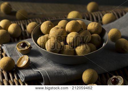 Raw Organic Brown Longan Fruit