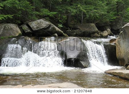 screw auger waterfalls in new hampshire