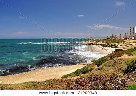 Shoreline of La Jolla