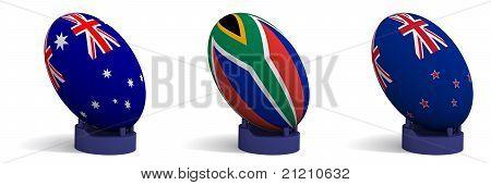 Das Tri-Nations-Rugby-Turnier