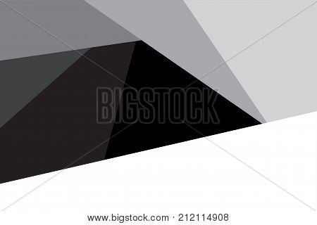 Triangle Abstract Background Graphic Design Vector For Presentation. Background And Abstract Concept