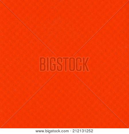 Orange Leatherette Texture Background