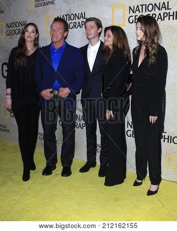 LOS ANGELES - OCT 30: Christina, Arnold, and Patrick Schwarzenegger: Maria Shriver, Katherine Schwarzenegger at the