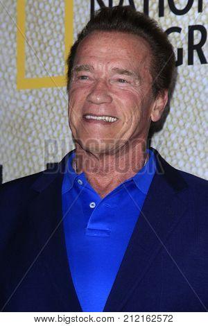 LOS ANGELES - OCT 30:  Arnold Schwarzenegger at the