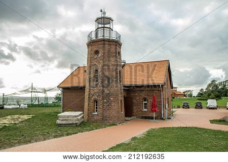 Old Lighthouse In Lithuania