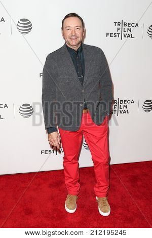 NEW YORK-APR 18: Actor Kevin Spacey attends 'Elvis & Nixon' Premiere - 2016 Tribeca Film Festival at John Zuccotti Theater at BMCC Tribeca Performing Arts Center on April 18, 2016 in New York City.
