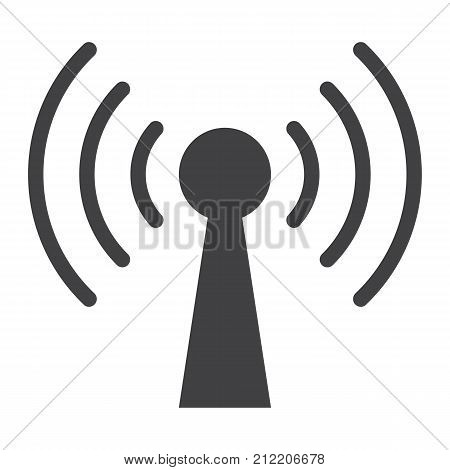 Podcast glyph icon, web and mobile, communication sign vector graphics, a solid pattern on a white background, eps 10