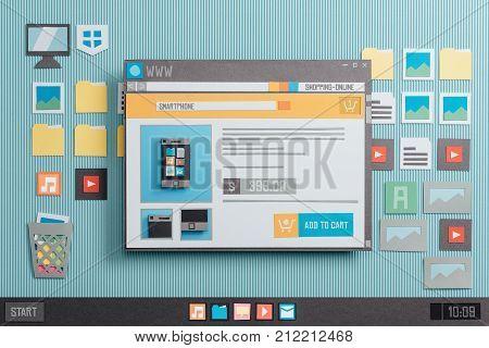 Online Shopping Website