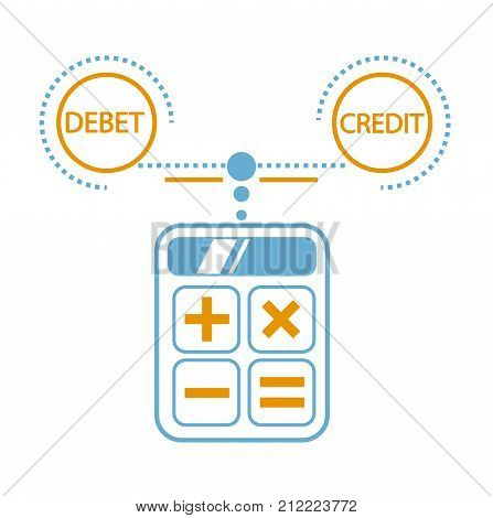 Concept Of Calculation Debit And Credit,