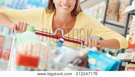 Woman Enjoying Shopping