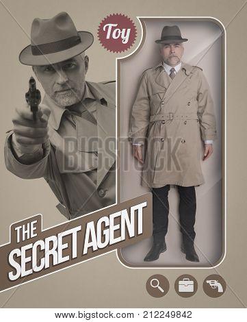 The Secret Agent Realistic Doll
