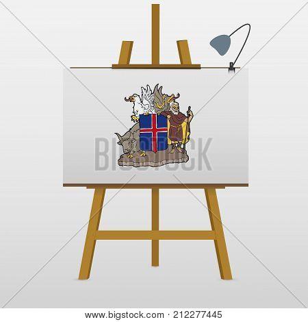 Iceland Symbols Vector