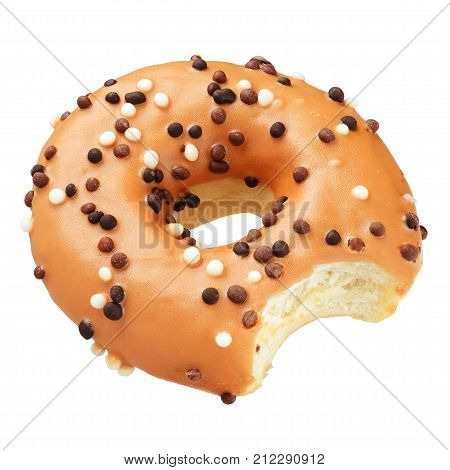 Brown Donut Isolated