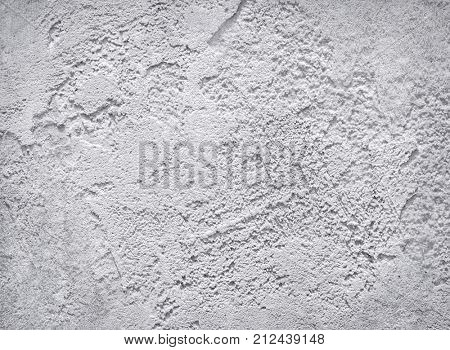 Grey concrete texture. Cement stucco wall background.