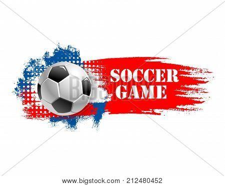 soccer game sport vector photo free trial bigstock