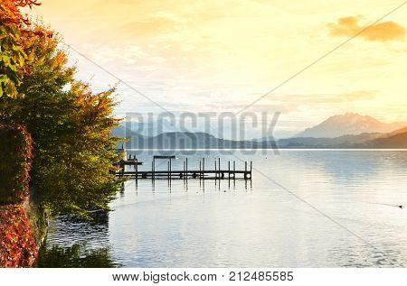 Lake of Zug, Switzerland