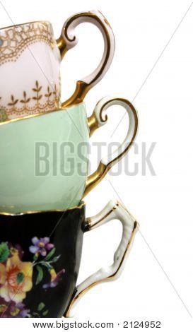 Antique Teacup Handles