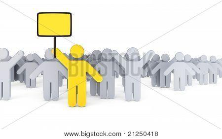 Strike Of Workers